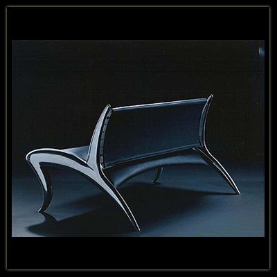 Industriedesign Sofa